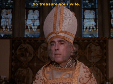 So treasure your wife